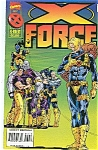 Click here to enlarge image and see more about item J0892: X-Force - Marvel comics -  July 1995  # 44