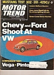 Click here to enlarge image and see more about item J10007: Motor Trend  -January 1971