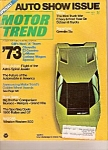 Click here to enlarge image and see more about item J10012: Motor Trend -  April 1972