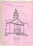 Click here to enlarge image and see more about item J10026: The Brethren Evangelist -  June 16, 1973
