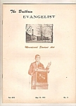 Click here to enlarge image and see more about item J10028: The Brethren Evangelist - May 19, 1973
