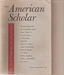 Click here to enlarge image and see more about item J10123: The American Scholar - Spring 1966