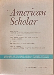 Click here to enlarge image and see more about item J10129: The American Scholar -  Summer 1966