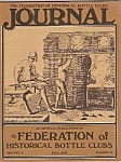 Click here to enlarge image and see more about item J10218: The Federation of Historical bottle clubs journal - Fal