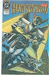 Click here to enlarge image and see more about item J1021: Hawkworld - DC comics - # l  June 1990