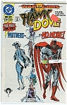 Click here to enlarge image and see more about item J1038: Hawk & Dove - DC comics - Oct. 91   # 28