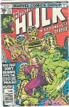 The incredible hulk - # 213  Marvel comics   July 1977