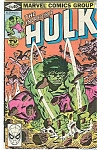 Click here to enlarge image and see more about item J1046: Hulk - Marvel comics group - # 245 March   1980