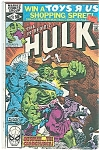 Click here to enlarge image and see more about item J1048: Hulk - Marvel comics - Oct. 1980   # 252