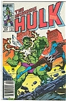 Click here to enlarge image and see more about item J1081: Hulk - Marvel comics = # 295  May   1984