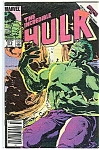Hulk - Marvel comics - # 312   Oct. 1985