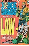 Click here to enlarge image and see more about item J1155: Judge Dredd - Eagle comics - No. 1  Nov. 1983