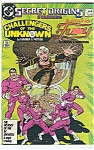 Click here to enlarge image and see more about item J1208: Challengers of the Unknown - DC comics - # 12 March 198