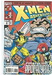 Click here to enlarge image and see more about item J1218: X-Men adventures - Marvel comics - Sept.  1994   # 8