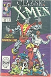 Classic X-Men = Marvelcomics - #25 Sept.  1988