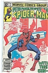 Spider Man - Marvel comics group - # 7l  Oct. 1982
