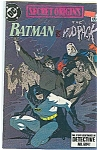 Batman - DC comics - Copyright 1989