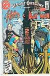 Click here to enlarge image and see more about item J1273: Halo & Batman - DC comics - #  6  Sept. 1986