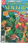 Click here to enlarge image and see more about item J1299: Return of the New Gods - DC comics -  # 13  Aug. 1977