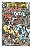 Click here to enlarge image and see more about item J1309: Secret Origins - Hawk & Dove--DC comics  # 43 89