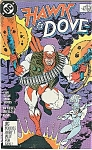 Click here to enlarge image and see more about item J1313: Hawk & Dove - DC comics - # 4  1988