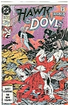 Click here to enlarge image and see more about item J1316: Hawk & Dove - DC comics -  # 11 April 1990