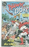 Click here to enlarge image and see more about item J1317: Hawk & Dove = DC comics - # 12  May 1990