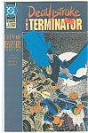 Click here to enlarge image and see more about item J1394: The Terminator - Deathstroke # 7 DC comics 1992