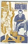 Click here to enlarge image and see more about item J1481: Notre Dame Basketballguide 1967-1968
