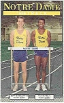 Click here to enlarge image and see more about item J1491: Notre Dame Track Guide 1989