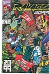 Click here to enlarge image and see more about item J1505: Ravage 2099 - Marvel comics - # 4 March 1993
