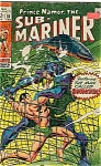 Click here to enlarge image and see more about item J1586: Sub Mariner -  Marvel comics - # 10 Feb 1969