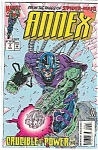 Click here to enlarge image and see more about item J1598: Annex - Marvelcomics - # l August 1994