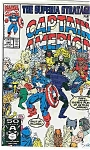Click here to enlarge image and see more about item J1630:  Captain America - Marvel comics - # 390   Aug. 1991