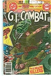 Click here to enlarge image and see more about item J1656: G. I. Combat - DC comics -    July 1979