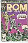 ROM -Spaceknight -  # 36 Nov.  1982 - Marvel comics
