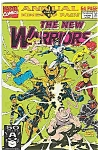 Click here to enlarge image and see more about item J1672: The New Warriors - Marvel comics  # l 1991