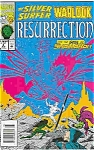 Click here to enlarge image and see more about item J1675: Silver Surfer - Marvel comics = # 4 June 1993