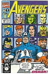 Click here to enlarge image and see more about item J1687: Avengers - Marvel comics - # 329  Feb. 1991
