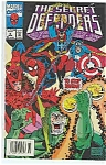 The Secret Defenders - marvel comics - # 6 Aug. 1993
