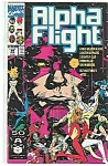 Alpha Flight - Marvelcomics  August 1991   # 99