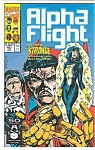 Click here to enlarge image and see more about item J1730: Alpha Flight - Marvelcomics - # 101 Oct.1991