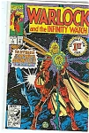 Click here to enlarge image and see more about item J1737: Warlock -Marvelcomics - # l Feb. 1992