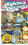 Click here to enlarge image and see more about item J1746: Cable - Marvel comics   Oct.   # l  1992