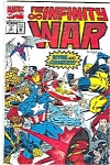 Click here to enlarge image and see more about item J1773: The Infinity War -Marvel comics  # 2 July 1992