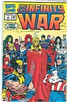 Click here to enlarge image and see more about item J1777: The Infinity War - Marvel comics - June 1992  @ l