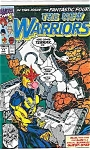 The New Warriors - Marvel  comics - # 17  Nov. 1991