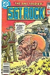 Sgt.R ock - DC comics -  April  # 35l    1981