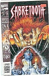 Click here to enlarge image and see more about item J2022: Sabre Tooth - Marvel comics -  Sept. 1993  # 2
