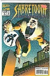 Click here to enlarge image and see more about item J2024: Sabretooth - marvelcomics - # 5  Sept. 1994